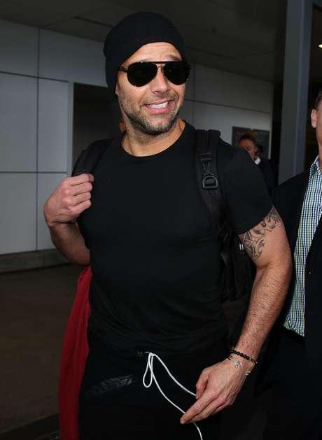 Ricky Martin aterrizó en Australia para integrarse al programa 'The Voice' en donde será coach