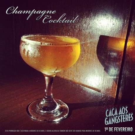 Champanhe cocktail é drinque clássico da década de 40