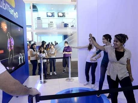 Área no Anhembi reúne atrações gratuitas da Campus para o público