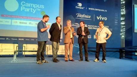 Anúncio da nova edição da Campus no Recife foi feito neste sábado no Anhembi