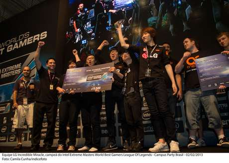 Equipe coreana bateu a polonesa na final do campeonato e levou etapa brasileira do Intel Extreme Masters