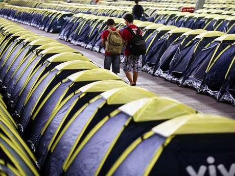 Na última edição do evento em São Paulo, mais de 5 mil campuseiros ficaram acampados no Anhembi