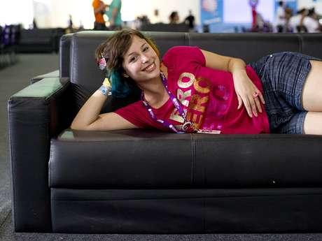 """A vlogueira Luisa Clasen, conhecida como Lully, foi escolhida pelos internautas do <strong>Terra</strong> como a """"campuseira mais gata"""" da Campus Party Brasil 2013. """"Competindo"""" com outras seis meninas na brincadeira, Lully teve mais de 100 mil votos"""