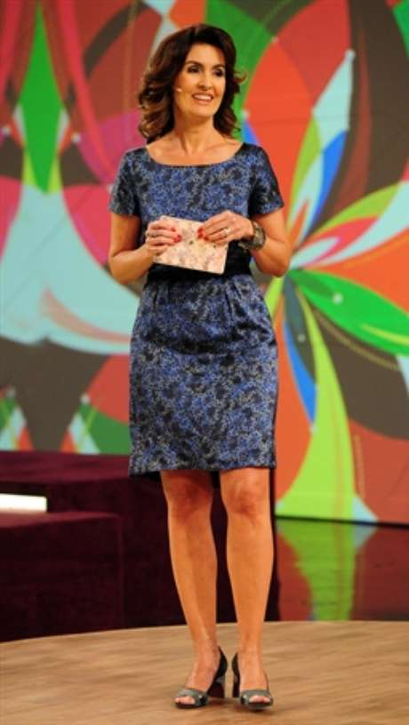 Fátima Bernardes empresta estilo próprio ao figurino de 'Encontro'