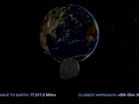 """""""La Nasa puede prever con precisión el camino del asteroide con las observaciones hechas y es posible afirmar que no hay chance de que el asteroide entre en ruta de colisión con la Tierra"""", informó la agencia espacial."""