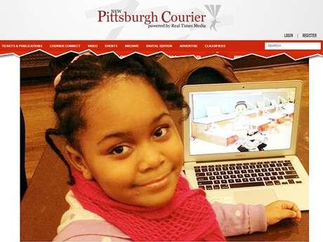 Zora, menina de sete anos, é tida como a mais jovem programadora para celular