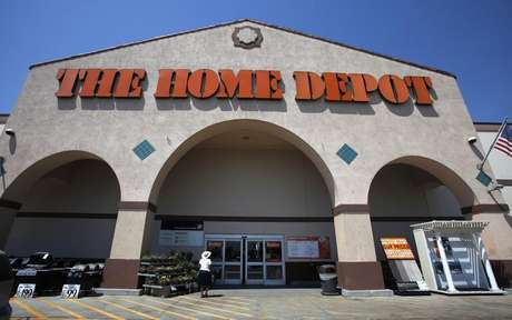 The entrance to The Home Depot store is pictured in Monrovia, California August 13, 2012.