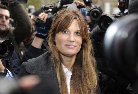 Britain's Jemima Khan, former wife of Pakistani politician Imran Khan, leaves City of Westminster Magistrates Court in central London December 14, 2010.