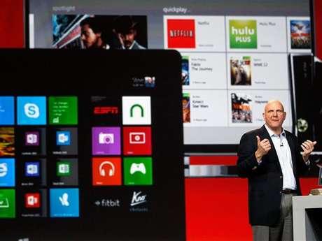 Steve Ballmer, consejero delegado de Microsoft.