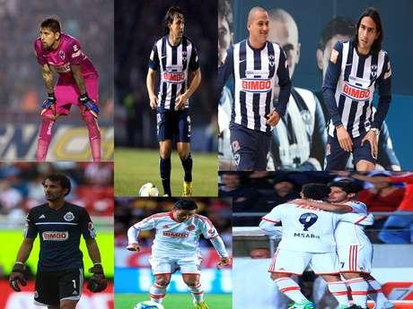 <p>Te presentamos a los futbolistas a seguir en el juego entre Monterrey y Chivas. Cualquiera de ellos, en su posición, puede marcar la diferencia en el juego sabatino que se disputará en el estadio Tecnológico.</p>
