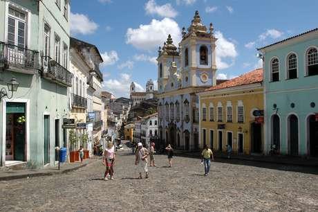 <p>Pelourinho é um dos dez pontos turísticos que os passageiros de cruzeiros podem conhecer em uma escala em Salvador</p>