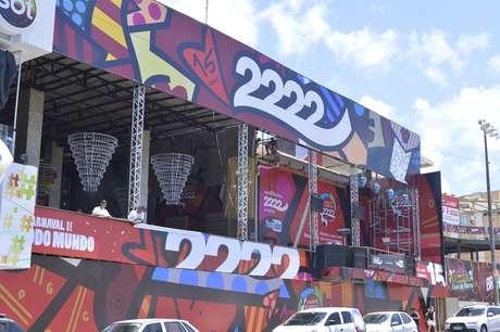 <p>Camarote Expresso 2222, de Gilberto Gil, é uma das atrações do Carnaval de Salvador</p>
