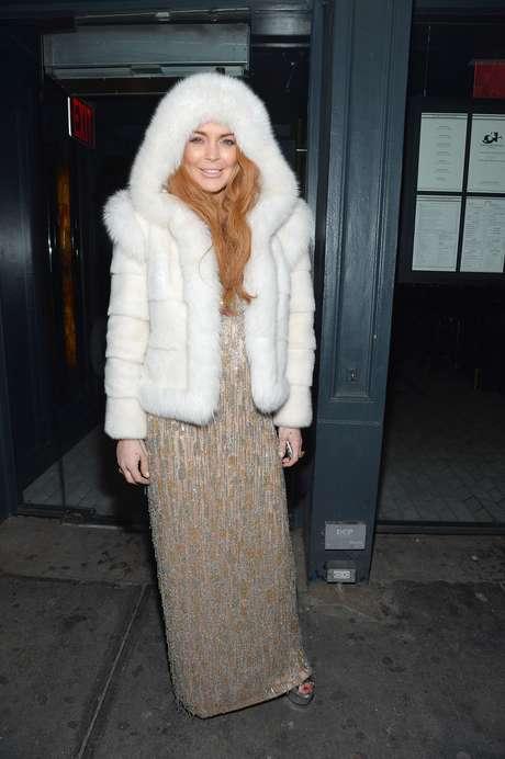 <p>La actriz asistió a una reunión de la amfARen Nueva York luciendo muy 'fashion' y más recuperada</p>