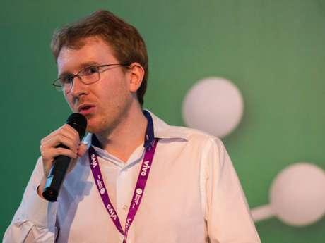 <p>Thomas Kunze,um dos fundadores do Part-Time Scientists</p>