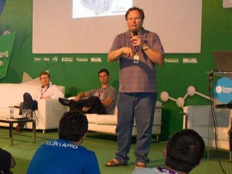 Cientistas de meio período participaram da Campus Party Brasil neste ano