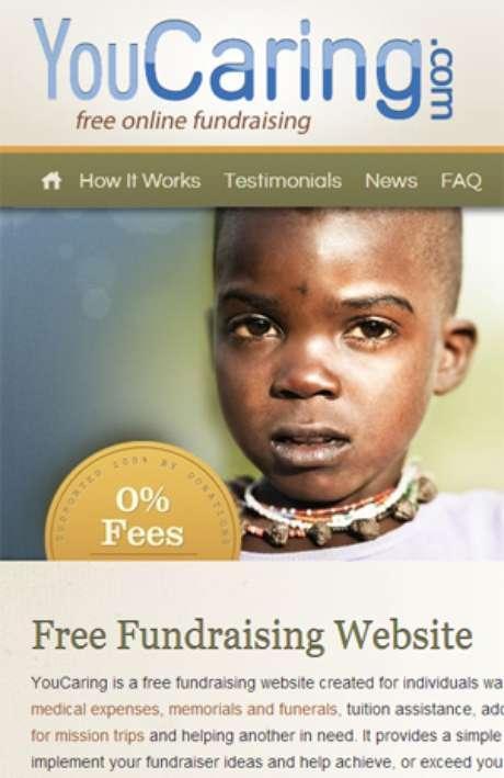 YouCaring invita a apoyar varias causas.