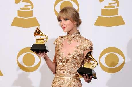 Taylor Swift se presentará este domingo en la ceremonia de entrega de los Premios Grammy, donde figura con dos nominaciones.