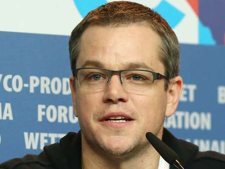 Matt Damon attends 'Promised Land' Press Conference during the 63rd Berlinale International Film Festival on February 8, 2013 in Berlin, Germany.