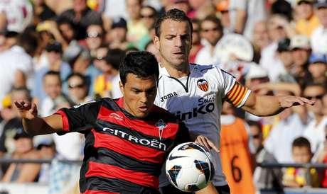 Cabral marcó en la primera vuelta ante el Valencia