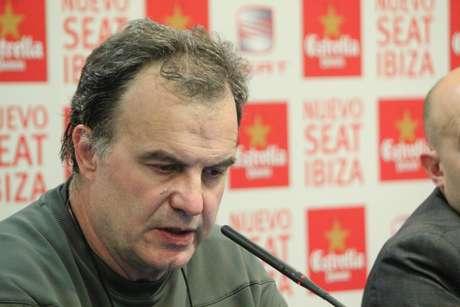 <p>Marcelo Bielsa, entrenador del Athletic de Bilbao.</p>