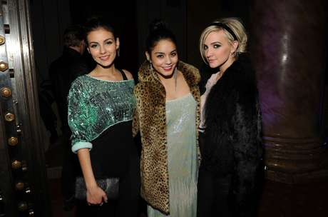 <p>Ashlee Simpson has been laying low from the entertainment scene but we're glad the beautiful lady makes her rounds at events often. This week during New York Fashion Week Ash has been rubbing elbows with celebs and looking fabulous in everything from sweet to edgy looks. Here she is with Victoria Justice and Vanessa Hudgens.</p>
