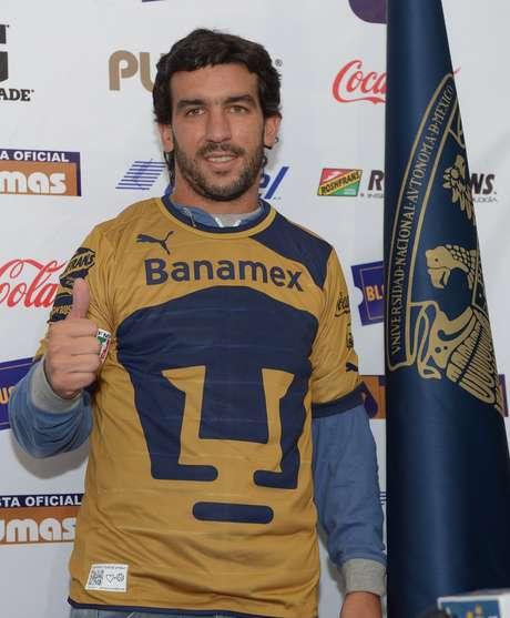 Juan Pablo Rodríguez listo para el debut con Pumas.