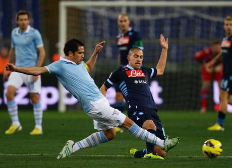 <p>Lazio had everything to get closer to Napoli with a score by Sergio Floccari in the 11th minute, until Hugo Campagnaro scored the equalizer in the 87th minute.</p>