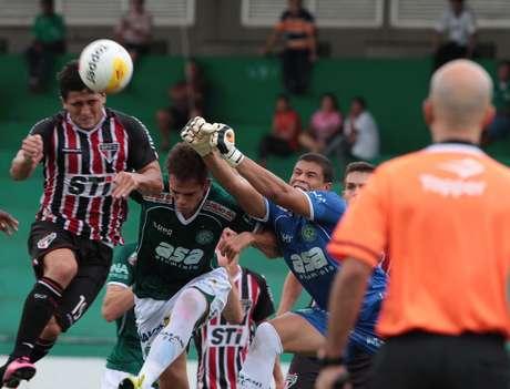 <p>Guarani ter&aacute; cinco desfalques para tentar a recupera&ccedil;&atilde;o no Estadual</p>