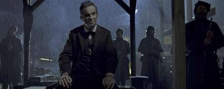 """Actors Daniel Day-Lewis shown in a scene from the film """"Lincoln"""" in this publicity photo released to Reuters January 10, 2013."""