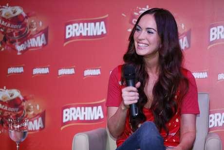 <p>A atriz Megan Fox veio ao Rio de Janeiro para passar o Carnaval</p>