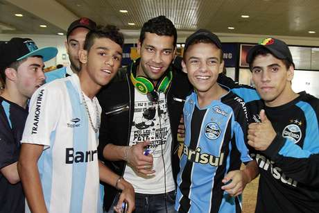 <p>André Santos está empolgado com a Libertadores</p>