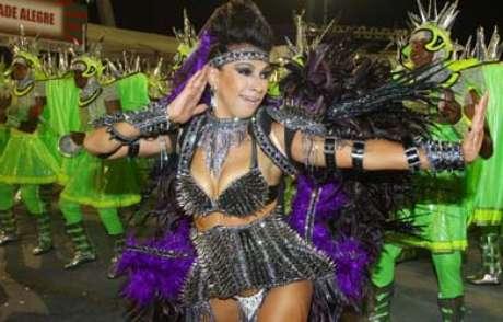 <p>A Mocidade Alegre é a atual campeã do Carnaval</p>