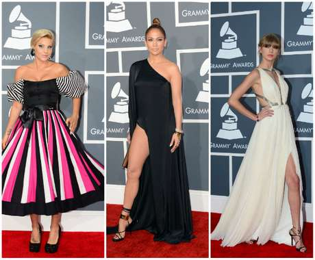 Hermosas mujeres, vestidos impactantes y una que otra 'loca', fue lo que vimos en la alfombra roja de la 55a entrega de los Premios Grammy, la noche del 10 de febrero de 2013. El desfile fue un espectáculo digno de ver, tanto como la ceremonia misma. ¡Arranca a ver las imágenes ya!