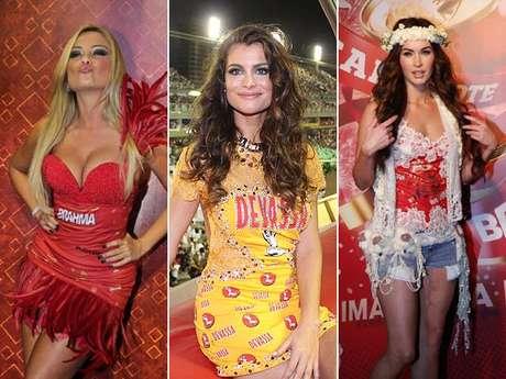 <p>Famosas ou anônimas, as folionas de todo o Brasil mostram criatividade de sobra em 2013 para customizar as camisetas e os abadás do Carnaval por todo o Brasil. Confira os cortes e as cores do uniforme das carnavalescas:</p>