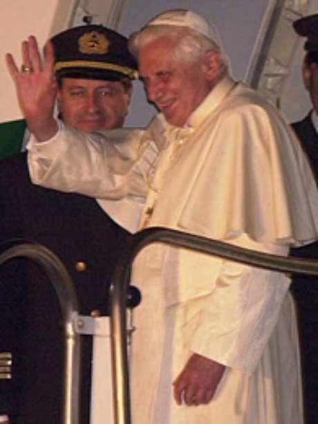 <p>Bento XVI anunciou sua renúncia nessa semana</p>