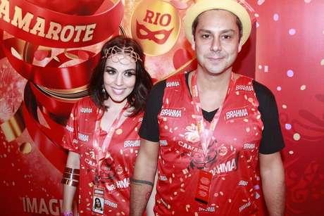 Alexandre Nero chega para acompanhar o Carnaval carioca no camarote Brahma