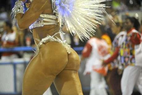 <p>Valesca Popozuda foi um dos destaques da Salgueiro naprimeira noitede desfiles do grupo especial do Rio de Janeiro</p>