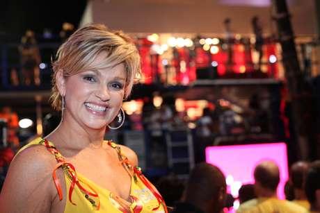 <p>Andréa de Nóbrega, do 'Mulheres Ricas', aproveitou o Carnaval de Salvador</p>