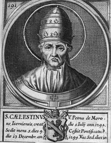 Celestino V renunciou em 1234