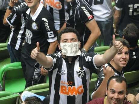 <p>Torcida comemora volta do Atlético-MG ao torneio e se apega a retrospecto em estádio</p>