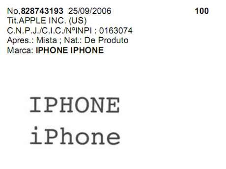 Revista do INPI traz deliberações sobre uso da marca iPhone no Brasil