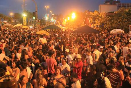 <p>O show do monobloco foi o último da programação oficial do Carnaval de Florianópolis</p>