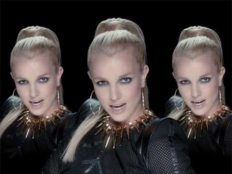 <p>Britney Spears, triple the fierce!</p>