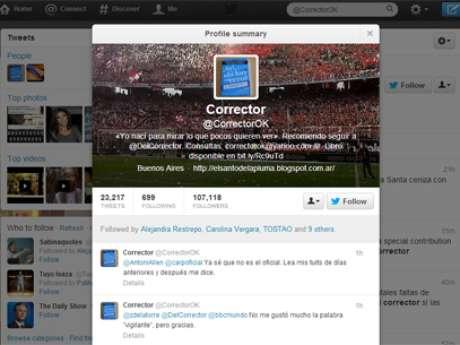 Aunque son argentinos, es frecuente que corrijan errores de usuarios en otros países.