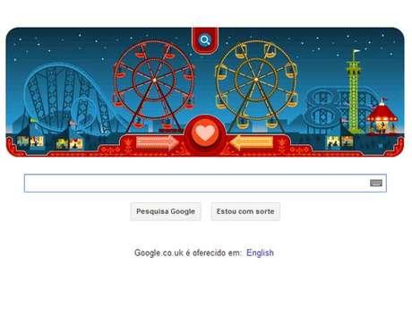 George Ferris, inventor da roda-gigante, foi lembrado em doodle de Dia dos Namorados