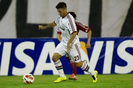 <p>Pouco antes do jogo contra Caracas,&nbsp;Rafael S&oacute;bis recebeu a not&iacute;cia de que iria ser titular do Fluminense</p>
