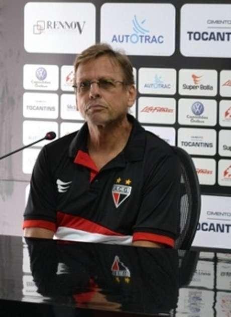 <p>Recém-chegado ao Atlético-GO, Waldemar Lemos vai encarar clássico contra o Vila Nova</p>