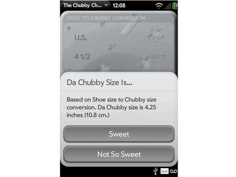 Applicativo The Chubby Checker afirma determinar tamanho do pênis a partir do número do calçado