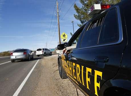 <p>Unaunidad policial patrulla las calles de Maricopa, Arizona.</p>