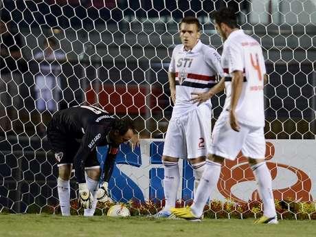 <p>Ceni falhou, mas viu São Paulo vencer graças a gol de Ganso</p>